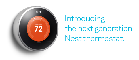 Introducing the next generation Nest thermostat.