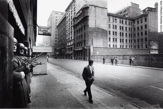 Koen Wessing, el fotógrafo de Chile 1973