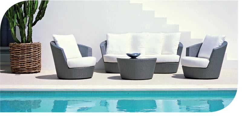 poolside furniture phooto